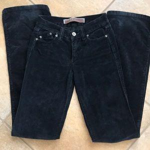 Zara TRF 100% Corduroy Jeans 2/34